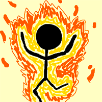 Light People on Fire