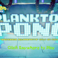 Spongebob Plankton Pong